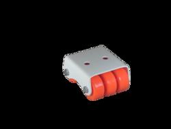 Mini Orange Caster