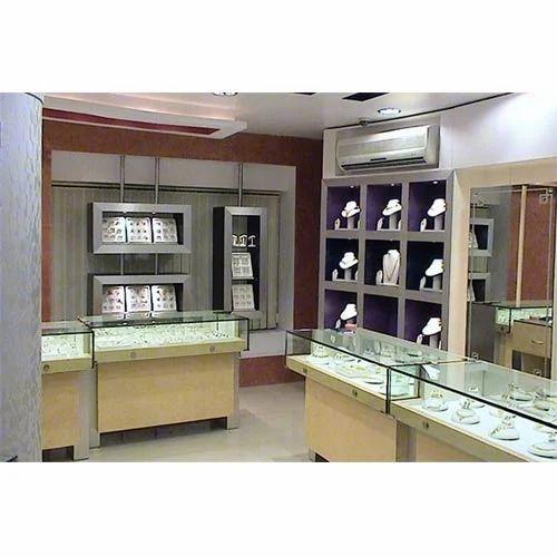 Jewellery Shop Interior Designing