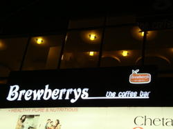 Glow Sign Display Boards