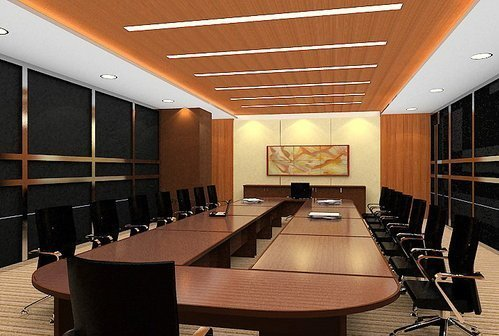 Conference Room Designing, Office Interior Designing | ID ...