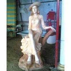 English Women Fountain Statue