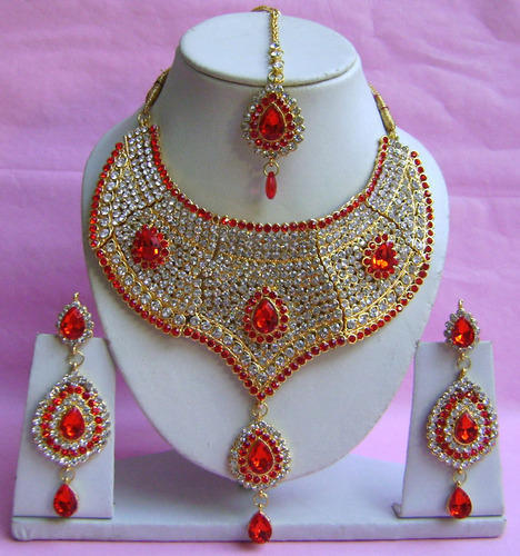 designer style zircon jewellery set at rs 950 piece s indian