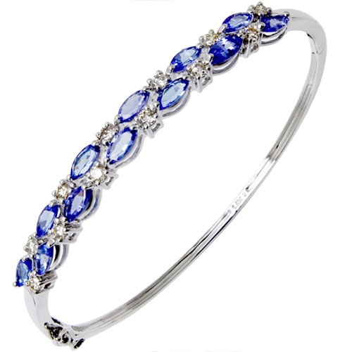 diamond gold white blue bangles in classic topaz tennis bracelet bangle and