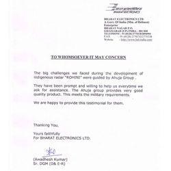 Bharat Electronics Ltd.