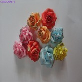 Foam Made Flower for Ring Tray Hairband Size 4cm