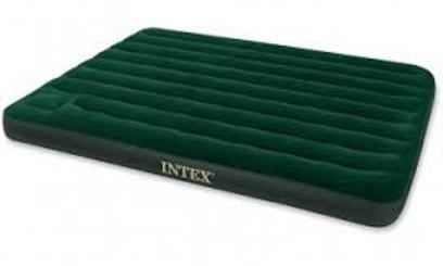 Leather Horizontal Intex Queen Size Air Bed With Pump Size Normal