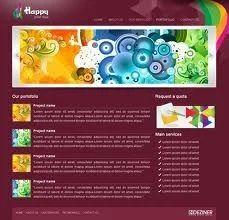 Spaniso technologies service provider of free website templates free css templates maxwellsz