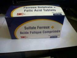 Ferrous Sulphate & Folic Acid Tablet