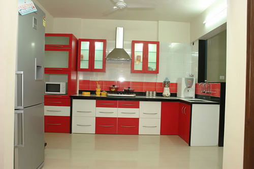 Modular kitchen trolleys view specifications details of kitchen trolleys by excel for Modular kitchen trolley designs