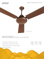 Mustang Fan- Copper