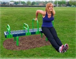 Bench Dip Station Outdoor Gym And Fitness