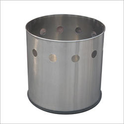 Stainless Steel Round Planters