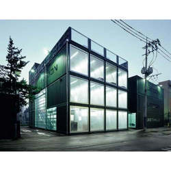 Three Storey Glass Office Cabin