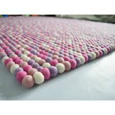 Square Felt Ball Rug At Rs 3100 Piece