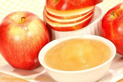 how to cook apples to puree