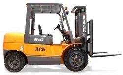 Forklift Semi Truck
