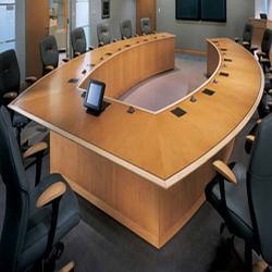 Conference Tables In Jaipur Rajasthan Manufacturers Suppliers - Elliptical conference table