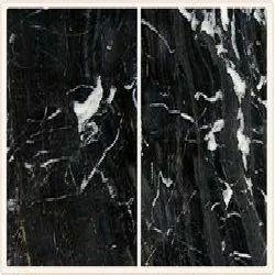 Zebra Black Marble Polished Marble Stone
