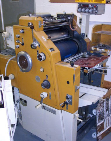 Single Phase Second Hand Used Itek Mini Offset Printing Machines Model 985 Rs 225000 Unit Id 4787544433