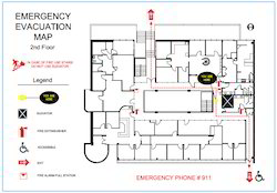 Evacuation Plan - Emergency Evacuation Plan Latest Price
