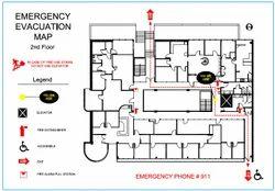 Evacuation Plan - Emergency Evacuation Plan Latest Price