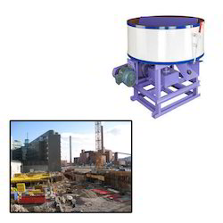Pan Mixer for Construction
