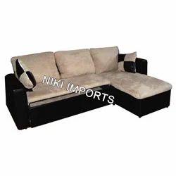 Cushion Corner Sofa Set - Fabric