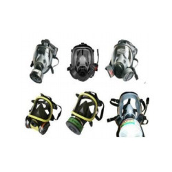Various Gas Masks