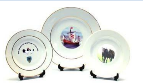 Customized Ceramic Plates  sc 1 st  IndiaMART & Customized Ceramic Plates | Unique Gallery | Retailer in Mall Road ...