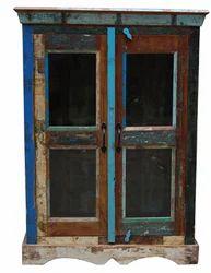2-Glass Door Cabinets