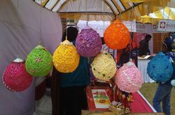Hand Made Lampshades Entrancing Manufacturers & Suppliers Of Handmade Lamp  Shades Haath Se Nirmit . Design