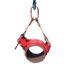 Pipe Lifting Lined Steel Choker Belt