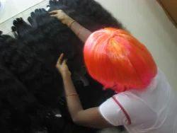 Golden Wavy Human Hair