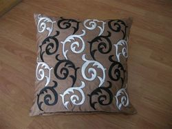 Black & White Printed Cushion Cover