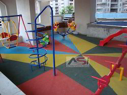 Rubber Playground Flooring Mats