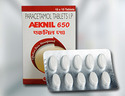 Aeknil 650 Mg Paracetamol Tablets