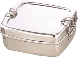 Compact Stainless Steel Lunchbox for Kids
