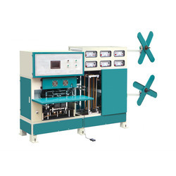 Non woven Handbag Double Handle Fixing Machines, Capacity: 100-120 (Pieces per hour), For Handle Bags