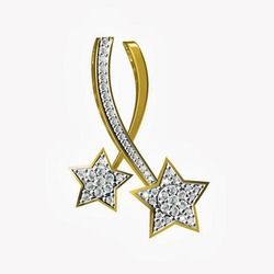 Designer silver pendant in surat gujarat designer chandi ke designer gold plated star pendant mozeypictures Gallery