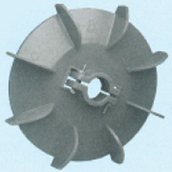 Plastic Fan Suitable For Crompton 112 Frame Size