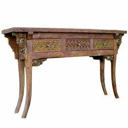 Attrayant Antique Wooden Table, Bedroom, Bathroom U0026 Kids Furniture | Super Decor  Private Limited In Shaym Nagar, Jaipur | ID: 5812946630