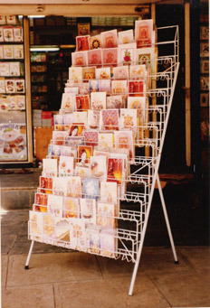 Greeting card display stand at rs 100 units parvati paytha greeting card display stand m4hsunfo
