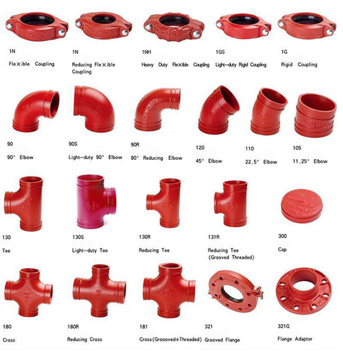 Victaulic Type Grooved Fittings - Merit Piping Solutions