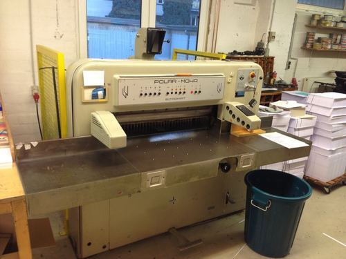 cutting machines polar 115 ce 45 manufacturer from vasai rh indiamart com polar cutter 92 emc manual pdf