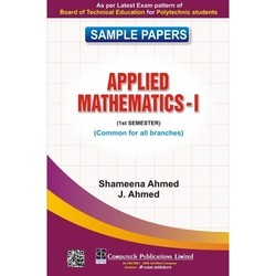 Sample Papers Applied Matematics I (Semester 1)
