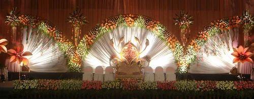 Stage Decoration Services Stage Flower Decoration Services Sun