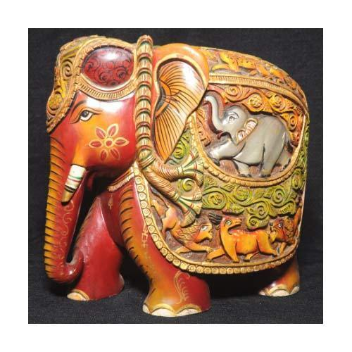Wooden Elephant Desing View Specifications Details Of Wooden