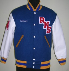 Bright Royal School Varsity Jacket