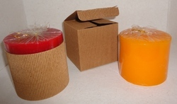 Yoga Essentials Palm Wax Candles