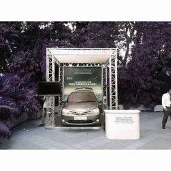 Car Display Aluminum Truss